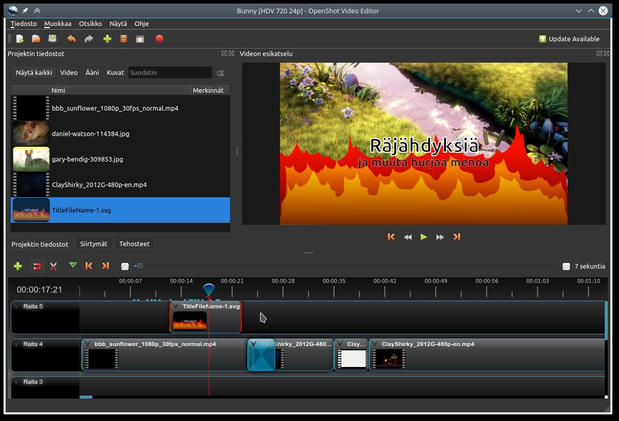Videoeditointi Ohjelma